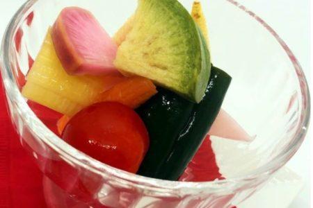 鎌倉野菜の限定ピクルス大好評です。