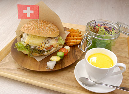 ランチセット Lunch Set / Repas de midi