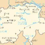 スイスの地図を検索してみました。