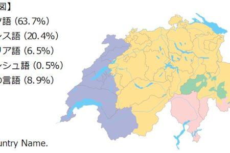 スイスの言語 Language.