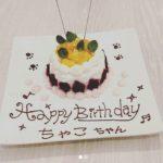 わんちゃんのケーキ例