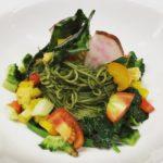 鎌倉野菜の冷静カッペリーニ ジェノバ風です!