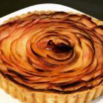 秋映りんごを使ったパイ