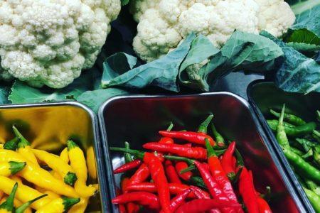 三鷹産の野菜達