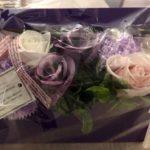 こんな素敵なお祝いのお花を頂きました