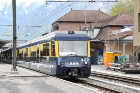 スイスは鉄道が元気です