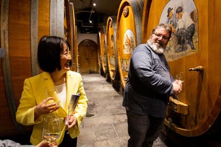 Domaine Bovy ワイナリー  ドメーヌ・ボヴィのスイスワイン