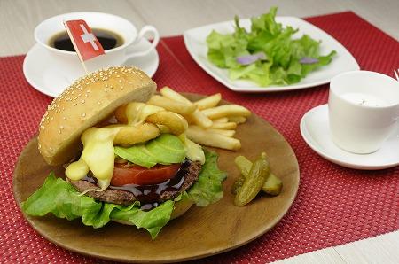 スイスバーガー Swiss Burger  ¥1,650