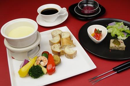 チーズフォンデュコース Cheese Fondue Course ¥1,980