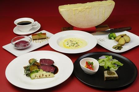Bランチ ラクレットと肉or魚が選べるコース Lunch Course B ¥4,950