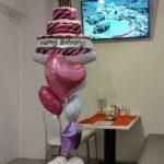 Birthday  Partyのご家族用のバルーンブーケ