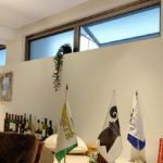 天窓の換気、強力な空気清浄機による空気の浄化
