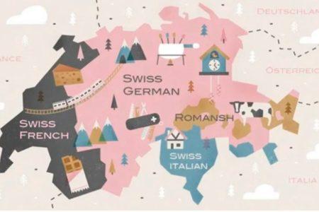 スイスでは、何語が話されているの?とよく質問されます。